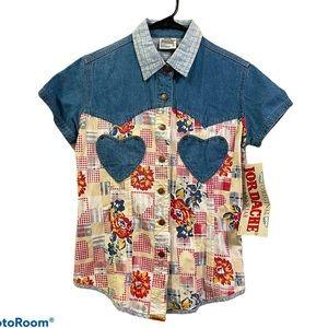 JORDACHE Original VTG button down shirt